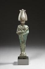 Statuette votive représentant le dieu Osiris