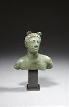 Buste représentant le dieu Mercure