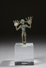 Statuette votive représentant un homme nu, stylisé