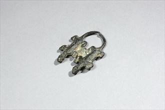 Figurine représentant deux lézards côte à côte