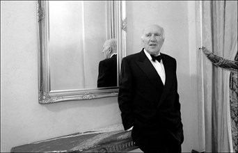 05/14/2001. EXCLUSIVE 54th Cannes film festival: Michel Piccoli.