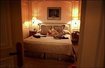 10/00/2002. Close up Rosanna Arquette in Paris.
