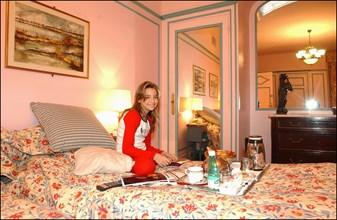 02/25/2003.  Close up French singer Priscilla