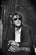Jacques Dutronc dans les coulisses de de la cérémonie des César 2005