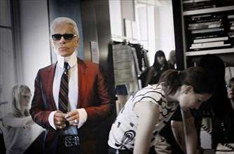 Karl Lagerfeld réinvente la collection Chanel Croisière en 2004