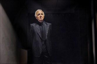 Concert de Charles Aznavour à Erevan (Arménie), le 30 septembre 2006