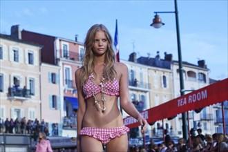 Défilé Chanel croisière à Saint-Tropez