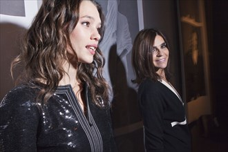 Astrid Bergès-Frisbey et Carine Roitfeld