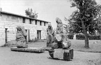 Atelier du sculpteur Eugène Dodeigne à Bondues