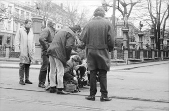 """Tournage du film """"Le Départ"""""""