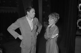Jacques Brel et Petula Clark, 1964