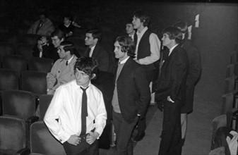 Les Kinks et Vince Taylor, 1964