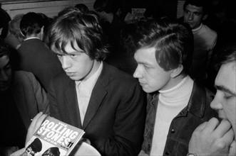 Mick Jagger et Jean-Claude Berthon, 1965