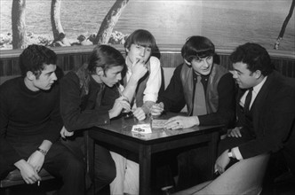 Ronnie Bird et ses musiciens, 1964