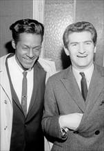 Chuck Berry et Eddy Mitchell, 1965