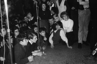 Johnny Hallyday et Claude Lemoine, 1964
