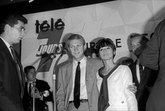 Steve McQueen et Neile Adams, 1964