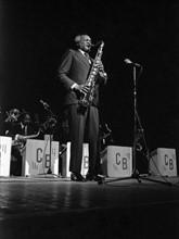 Saxophoniste du Count Basie Orchestra, 1977