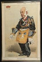Statesman n° 37, Vanity Fair, 1869