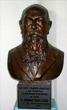 Buste en bronze d'Hiram Marachian,