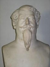 Buste en marbre de Lucien Murat