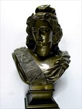 Buste en bronze de Marianne maçonnique