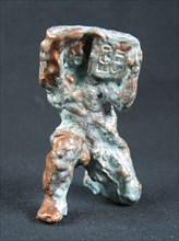 Statuette de terre cuite réalisée par JP Jullian Desayes