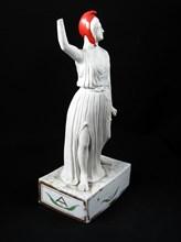 Statuette en porcelaine type « biscuit »