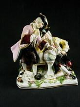 Figurines en porcelaine de Meisen (Saxe),