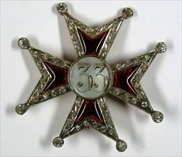 Croix pattée de 33e
