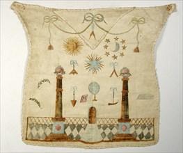 Tablier de Maître, décor au tapis de loge
