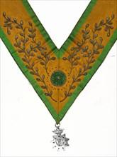 Sautoir de Conseiller de l'Ordre avec bijou en argent
