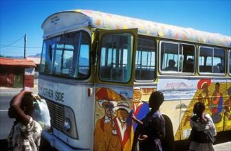 Le Cap, Afrique du Sud en 1998