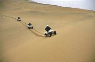 Stubbs, Les dunes de Namibie
