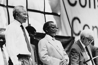 Nelson Mandela, Oliver Tambo et Walter Sisulu