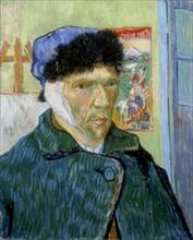 Van Gogh, Autoportrait à l'oreille bandée
