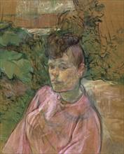Toulouse-Lautrec, Femme dans le jardin de Monsieur Forest
