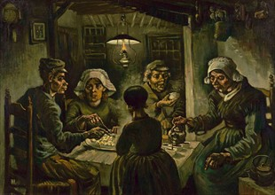 Van Gogh, Les Mangeurs de Pommes de Terre