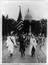 Parade du Ku Klux Klan