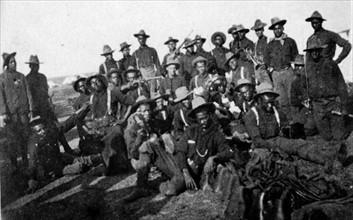 Compagnie ségréguée de soldats américains