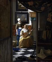 Vermeer, The Love Letter