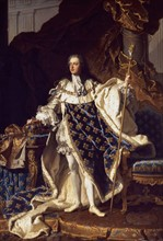Portrait of King Louis XV of France by Hyacinthe Rigaud, 1659-1743