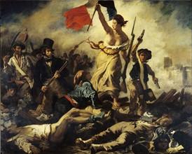 Delacroix, La Liberté guidant le peuple