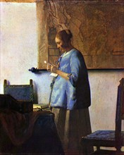 Vermeer, Woman Reading a Letter
