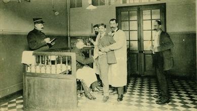 Inoculating patients against Rabies at the Institut Pasteur, Paris, c1910