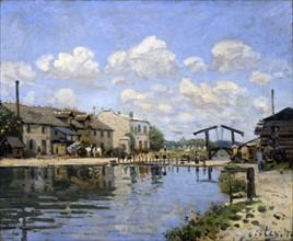 Sisley, Le canal Saint-Martin