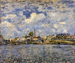 Sisley, La Seine au point du jour