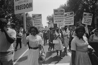 Civil rights march on Washington, 1963