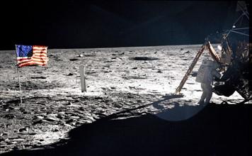 Astronaut Neil A. Armstrong