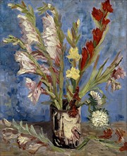 Van Gogh, Vase aux glaïeuls et asters de Chine